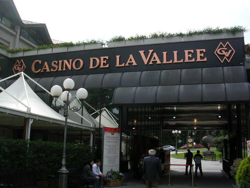 Saint vincent casino poker